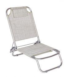 Chaise longue d'extérieur Ocean | Grey