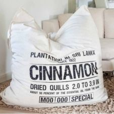 Canvas Bean Bag | Cinnamon