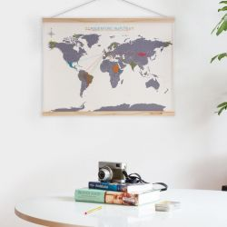 Carte Mondiale Cross Stitch