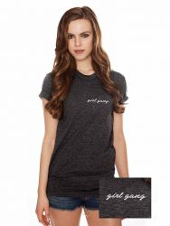T-Shirt ♀ Girl Gang | Grey