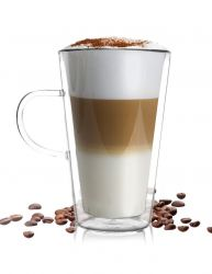 Latte Doppelwandiges Glas | 320 ml