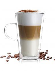 Lattekop met Dubbelzijdig Glas | 320 ml
