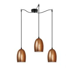 Pendant Lamp Ume 3_S | Copper / Black
