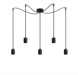 Pendant Lamp CERO 5_S | Black