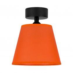 Ceiling Lamp Iro 1 CP | Black/Orange