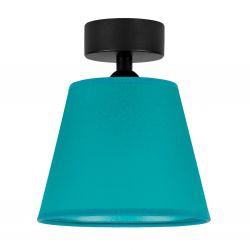 Ceiling Lamp Iro 1 CP | Black/Turquoise