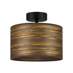 Ceiling Lamp Ocho S 1_CP | Brown-Striped