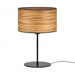 Table Lamp Ocho S 1_T S | Zebrano - Black