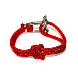 Shackle Bracelet | True Lovers' Knot | Valentine's Red