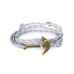 Anchor Bracelet | Luck Knot | Grey