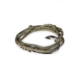 Hook Bracelet | Luck Knot | Green