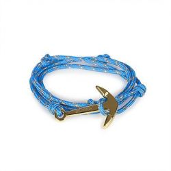 Anchor Bracelet | Beloved's Knot | Light Blue