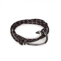 Hook Bracelet | Freedom Knot | Black