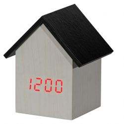 Clock Wood | White