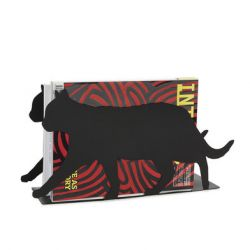 Magazine Rack Feline | Black