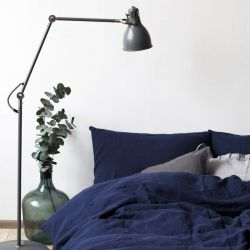 Bed Linen Set | Navy Blue