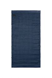Calfskin Leather Rug Porto | Navy