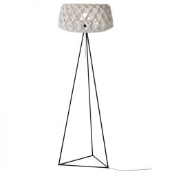 Floor Lamp PILKE 60 Tripod | White
