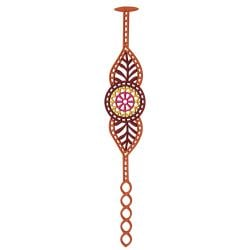 India Bracelet | Caramel