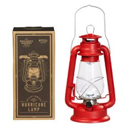 Outdoor Lantern Hurricane | Red