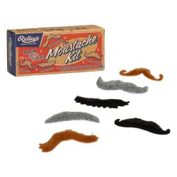 Stick On Moustache Kit