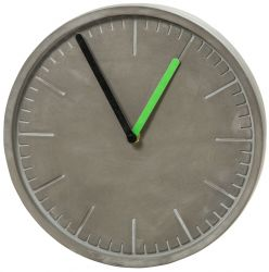 Wall Clock Concrete | Grey