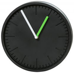 Wall Clock Concrete | Black