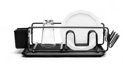 Dishrack Aluminium | Black