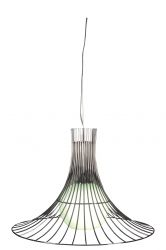 Pendant Lamp Metal 50 cm | Chrome