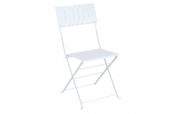 Outdoor Dining Chair Bradano | White
