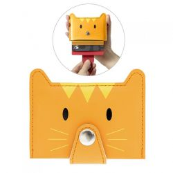 Credit Card Holder Zoo | Orange