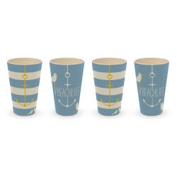 Tasses Plage | Set de 4