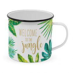 Metal Mug Happy | Jungle