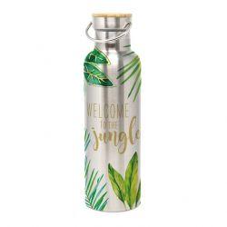 Edelstahlflasche mit Verschluss | Dschungel