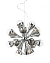 Pendant Lamp Explosion | Chrome