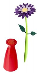 Pen with Vase Flower | Violet