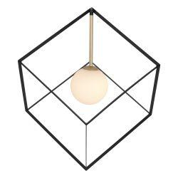 Pendant Lamp Cadre 1 x G9 | Black