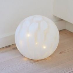 Cloudy Glass Lamp Ø 20 cm