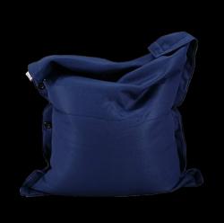 Sitzsack komplett 130 x 100 cm | Blau