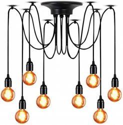 8-armige Lampe Deluxe