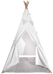 Teepee | White & Grey