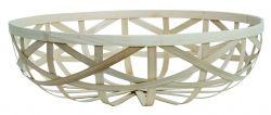 Splint Bamboo Basket Medium