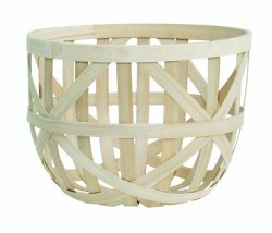 Splint Bamboo Basket Smal