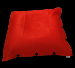 Sitzsack komplett 100 x 100 cm | Orange