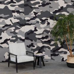 Akustiktapete BuzziSkin Printed | Camouflage Schnee