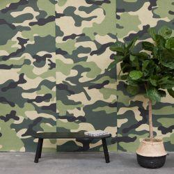 Akustiktapete BuzziSkin Printed | Camouflage Amazonas
