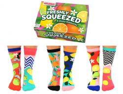 Socks Ladies Freshly Squeezed | Set of 6