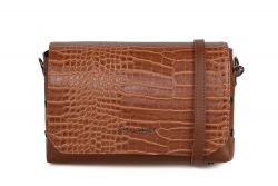 Handtasche Cathcart Croco | Tan