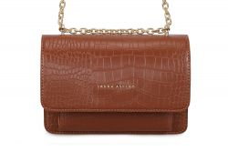 Handtasche Salvia Croco | Tan