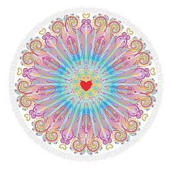 Roundie Beach Towel Corazon